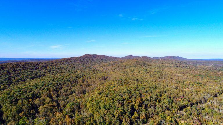 Bull Run Mountains NAP Aerial