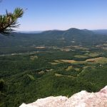 Looking over Rockbridge County from House Mountain